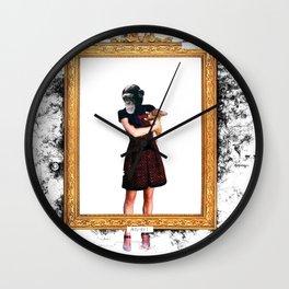 Arty Shit Wall Clock