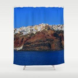 Santorini 22 Shower Curtain