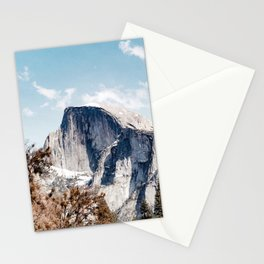 Half Dome from Yosemite Falls Stationery Cards