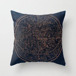 Constellations of the Northern Hemisphere Throw Pillow