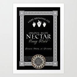 Fictional Brew - Nectar Art Print