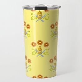 Waffle and Syrup (Yellow Cake Fluff) Travel Mug
