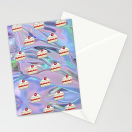 Shortcake Emoji Holographic Stationery Cards