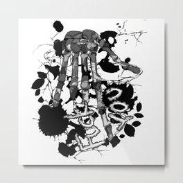 F:::U Metal Print