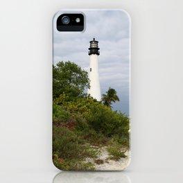 Bill Baggs - Cape Florida Light iPhone Case