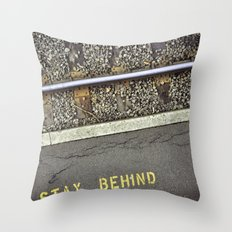 The Rules Throw Pillow