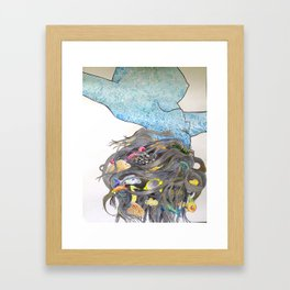 Water Based Life Form Framed Art Print