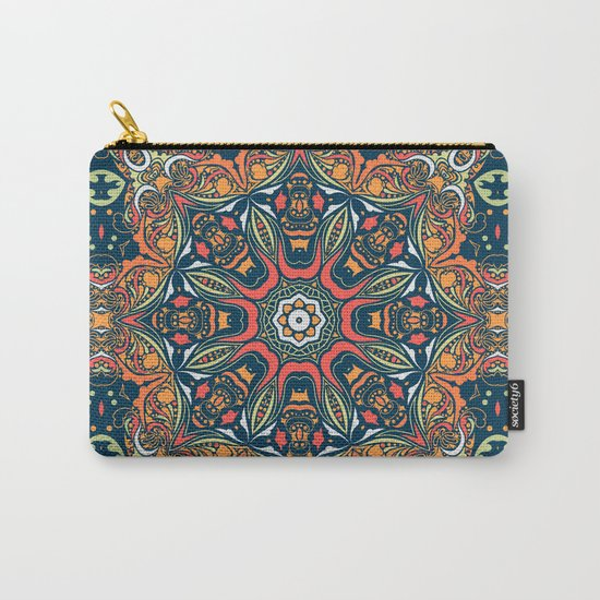 Ethnic mandala (Fire) Carry-All Pouch
