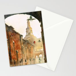 A view on St Anne Street Stationery Cards