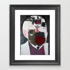 Head 20. 2014. Framed Art Print