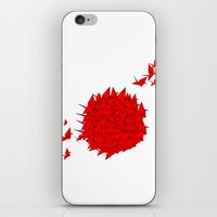 japan iPhone & iPod Skins featuring japan by Sophie Rousseau