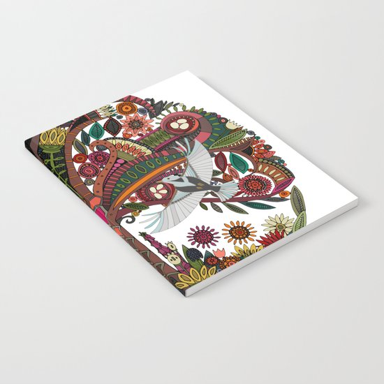 tree of life white Notebook