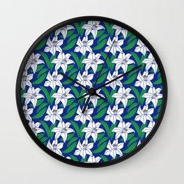 Japanese Pattern 4 Wall Clock