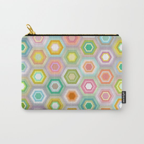 granny pastel hex Carry-All Pouch
