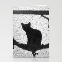 kitty Stationery Cards featuring Kitty by SensualPatterns