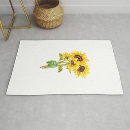 sunflower bouquet 2020 Rug