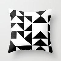 yin yang Throw Pillows featuring Yin Yang by Jar Lean