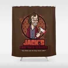 Jack's Caretaker Services Shower Curtain