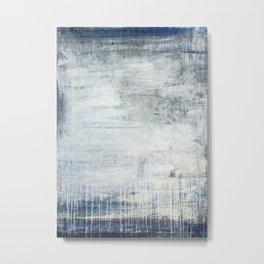 """antique blue elegance"" Metal Print"