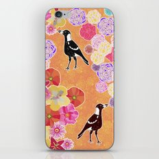 Magpie Floral iPhone & iPod Skin