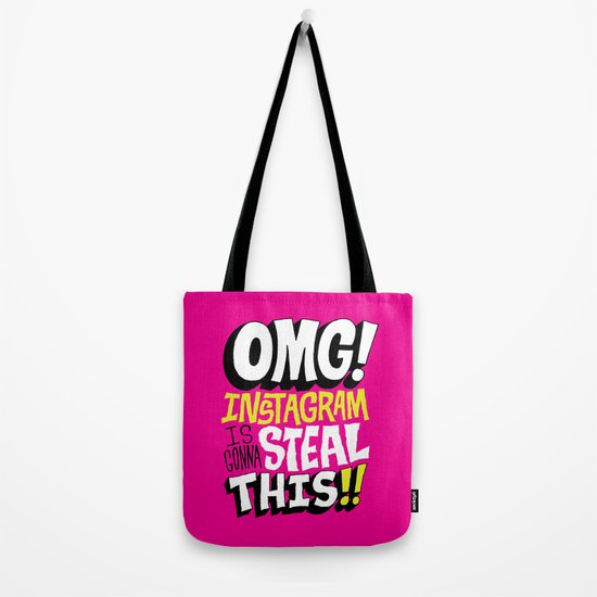 OMG! INSTAGRAM! Tote Bag