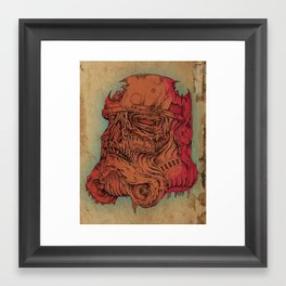 Undead Trooper Framed Art Print