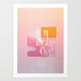 Portland Vase in Pink Art Print