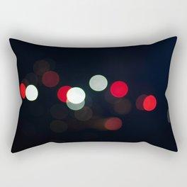 Bokeh abstract Rectangular Pillow