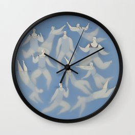 The swimmers Wall Clock