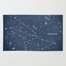 TAURUS - Astronomy Astrology Constellation Rug