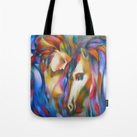 ruben Tote Bags featuring Ruben 0 by  Alexandra's Collection