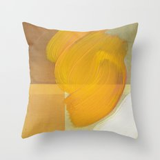 orange one Throw Pillow