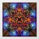 Psychedelic kaleidoscope cloud pattern by steveball