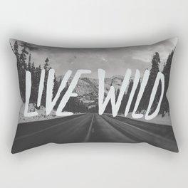Live Wild x North Cascades National Park Rectangular Pillow