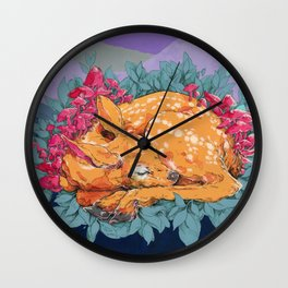 Mother, Sing Me a Song That Will Make Me Weep Wall Clock