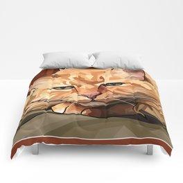 Louie Cat Comforters