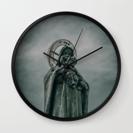 The Virgin Mary Wall Clock