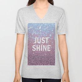 Just Shine Unisex V-Neck