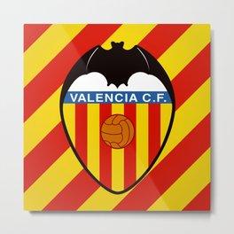 Valencia C.F. Metal Print