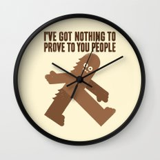 Surefooted Wall Clock