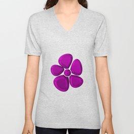 FLOWER 1 Unisex V-Neck