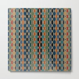 Moroccan Braided Abstract Metal Print