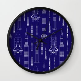 How We Get To Space Wall Clock
