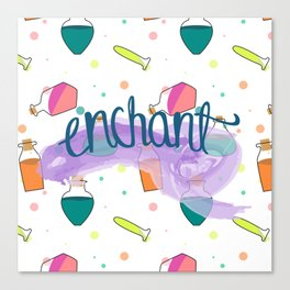 Truly Enchanted Canvas Print
