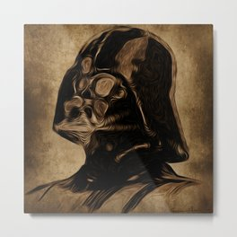 VINCENT DARTH VADER Metal Print