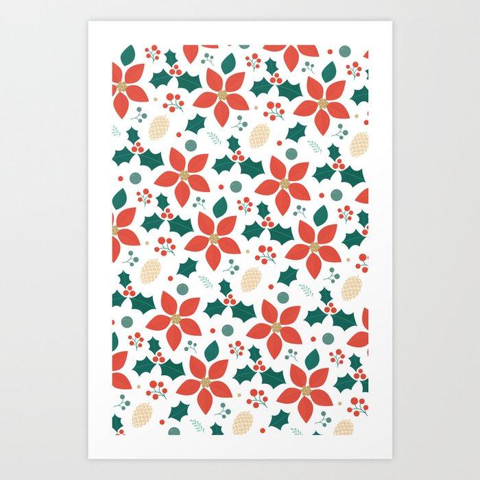 Deck the Halls (Patterns Please) Art Print