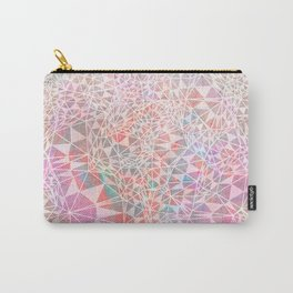 Geo batik pattern - pink Carry-All Pouch