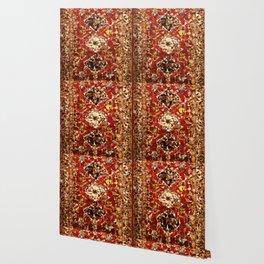 Shirvan Carpet Low Poly Geometric Triangle Art Wallpaper