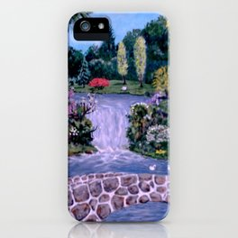 My Garden - by Ave Hurley iPhone Case