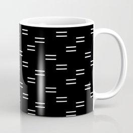 double dash on black Coffee Mug